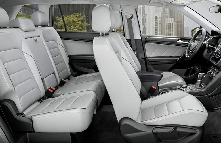 2018 Volkswagen Tiguan interior seats