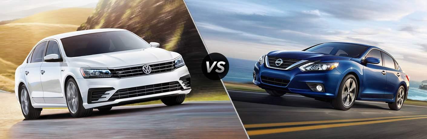 2017 Volkswagen Passat vs 2017 Nissan Altima