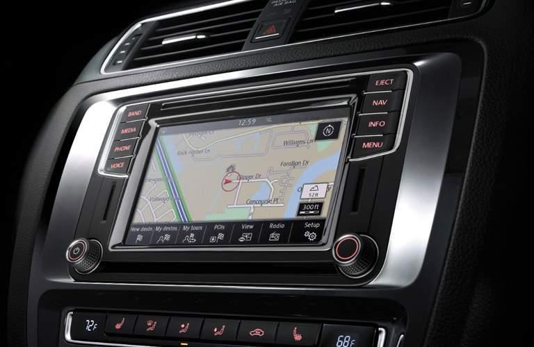 2017 VW Jetta driver's display