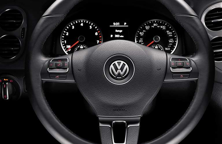 2017 Tiguan steering wheel