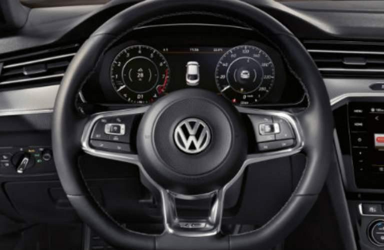2018 VW Arteon drivers view