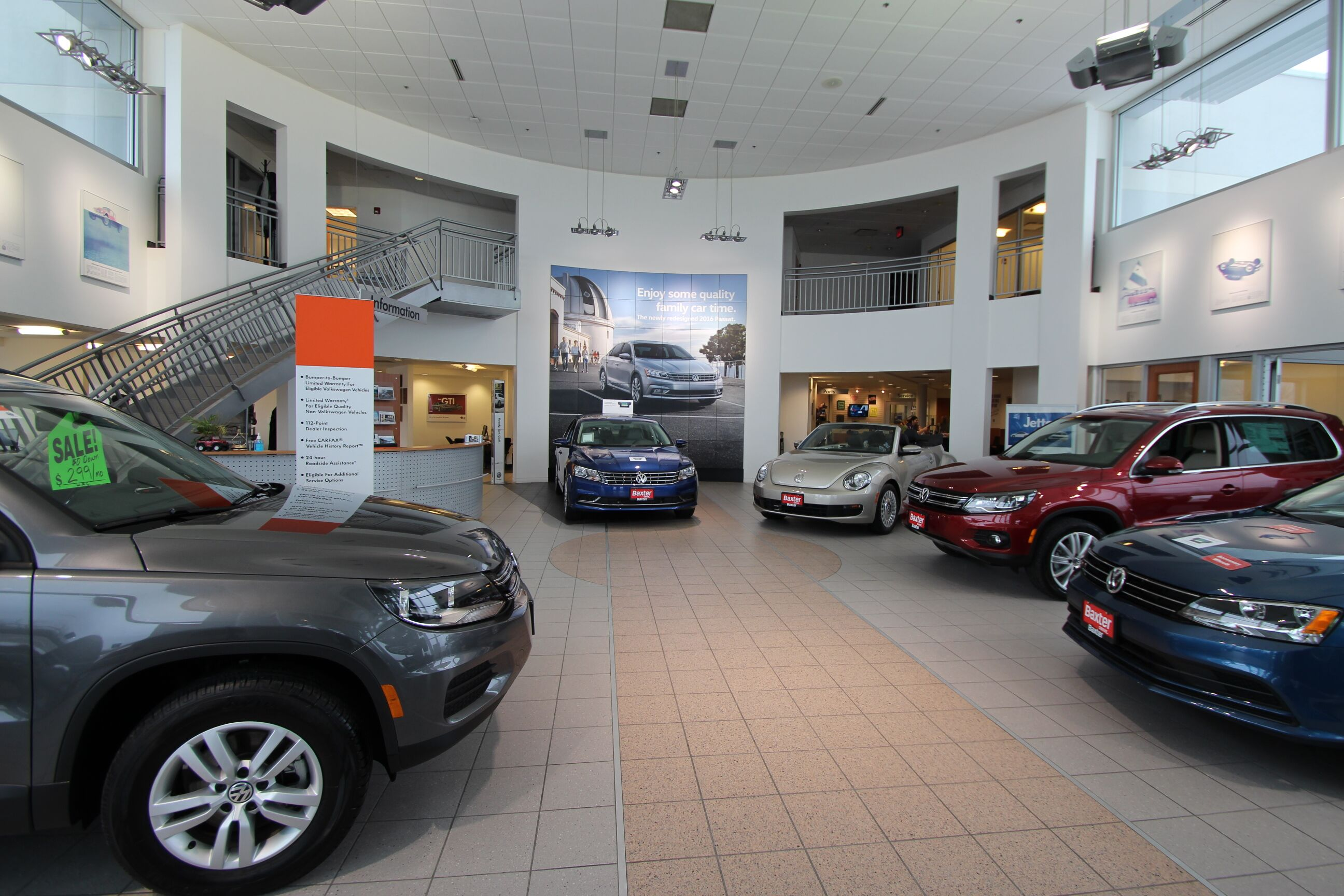 Showroom Baxter Volkswagen La Vista, NE