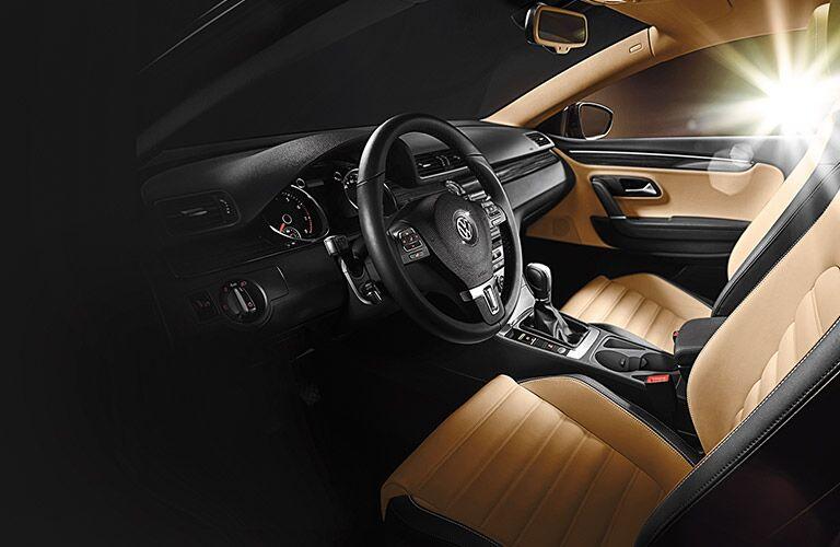 2016 Volkswagen CC luxury interior driver assistance