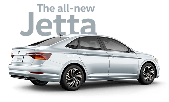 The all-new 2019 VW Jetta at our Van Nuys Volkswagen dealership near Woodland Hills