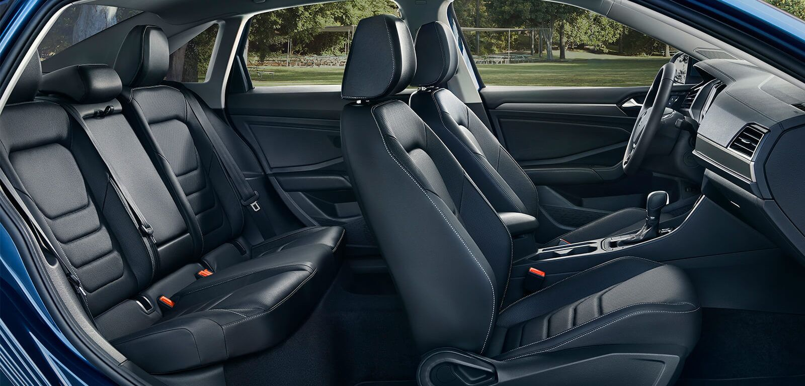 New 2019 Volkswagen Jetta available front row leather heated seats