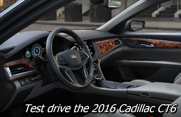 test drive the 2016 cadillac ct6 in oshkosh