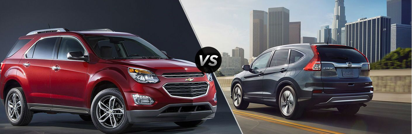 2016 Chevy Equinox vs 2016 Honda CR-V