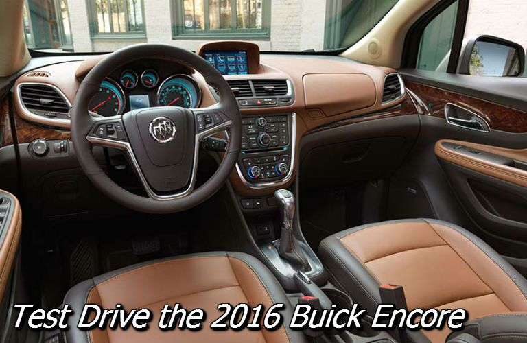buick encore. where to test drive the buick encore in fond du lac