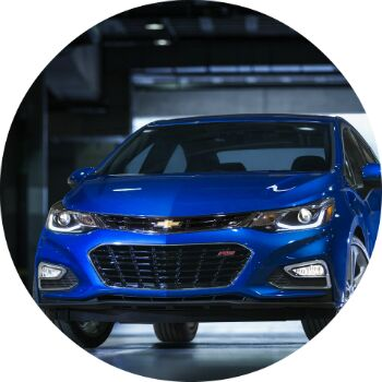 what does the all new chevy cruze look like?