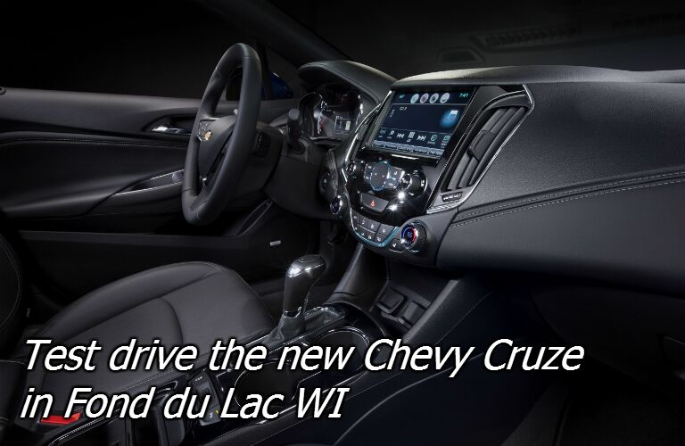 where can i test drive the new 2016 chevy cruze near appleton?
