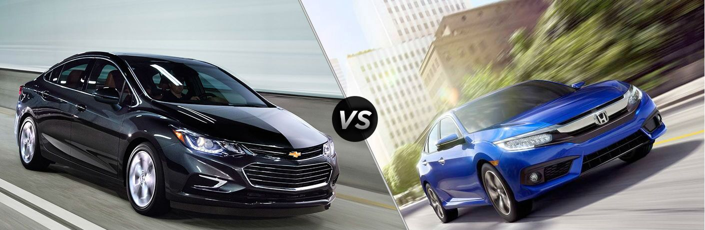 2016 chevy cruze vs 2016 honda civic