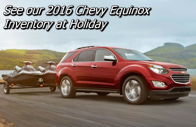 deals on the new chevy equinox in the fox valley