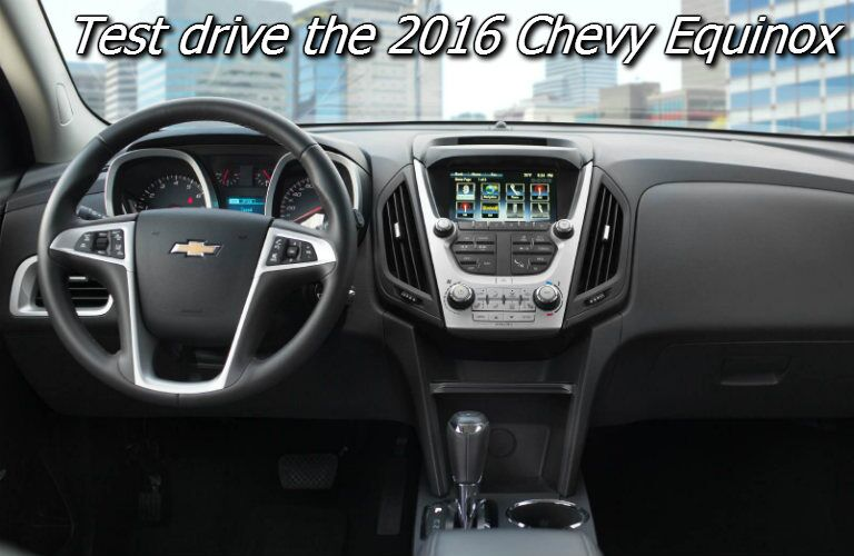 where can i test drive the 2016 chevy equinox in fond du lac?