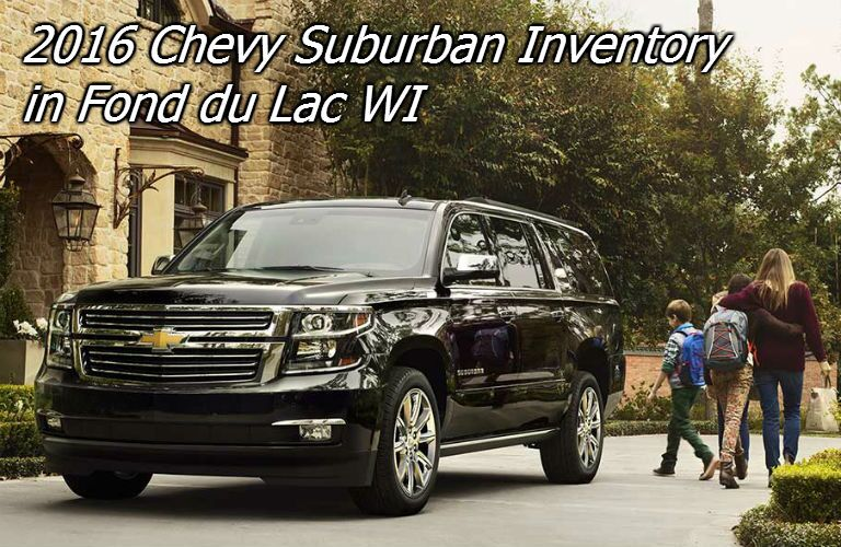 new 2016 chevy suburban in fond du lac