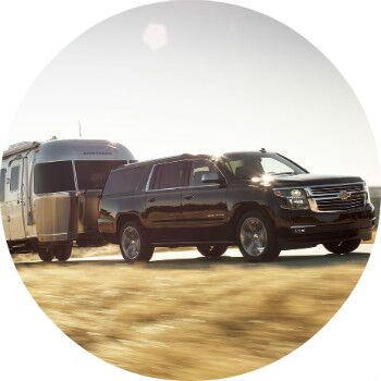 2016 chevy suburban towing rating