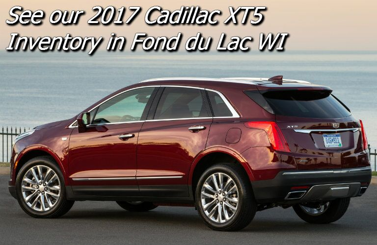 new cadillac xt5 for sale in fond du lac wi