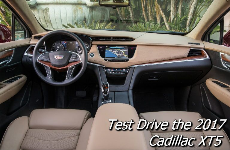 where can i test drive the 2017 cadillac xt5 near fond du lac?
