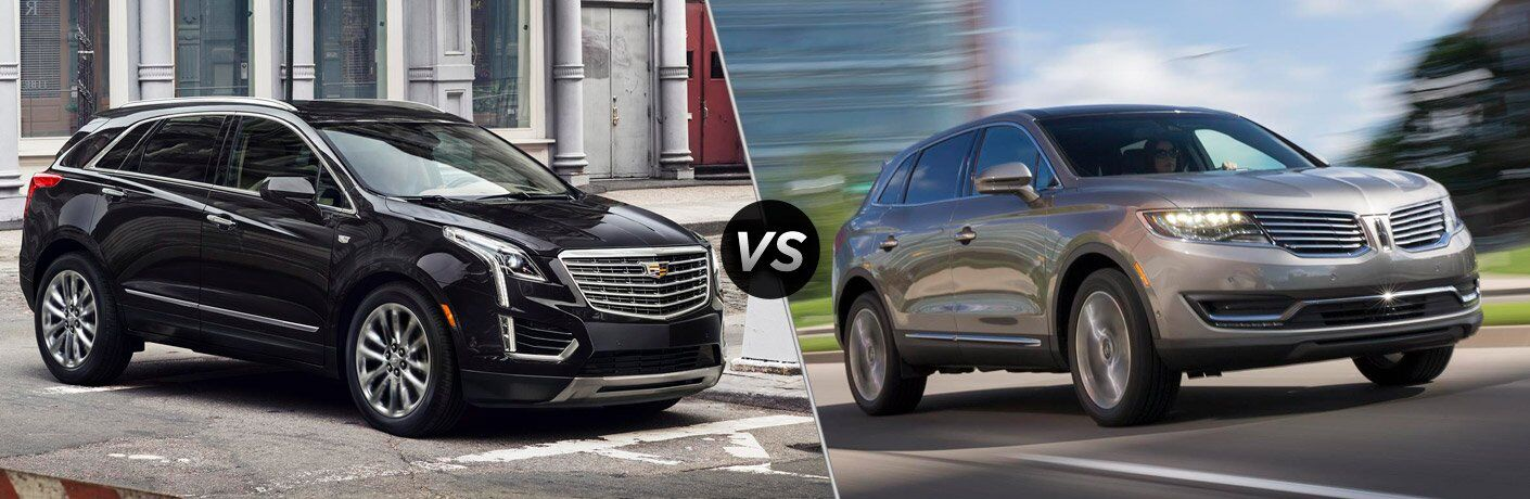 2017 Cadillac XT5 vs 2017 Lincoln MKX
