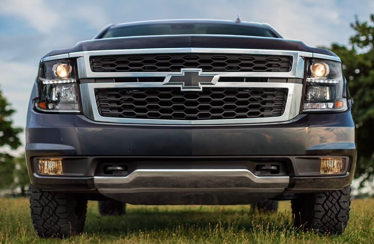 2017 chevy tahoe with black bowtie badging