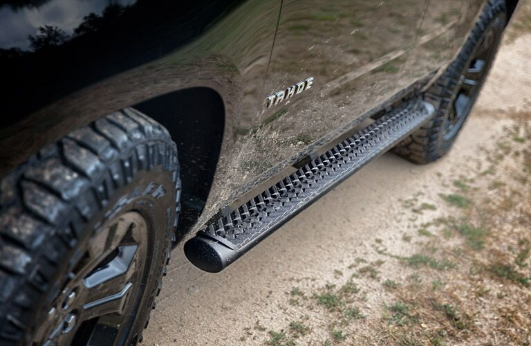 steps on the chevy tahoe