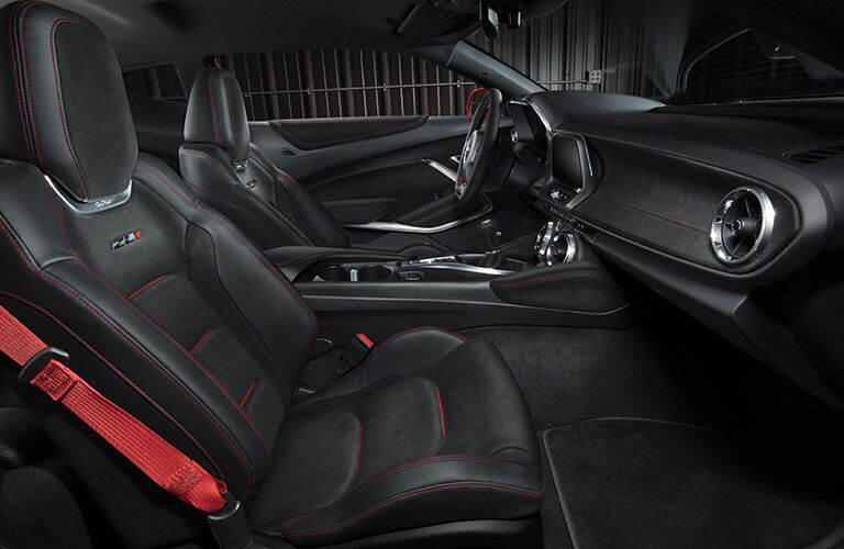 2017 chevy camaro seat design