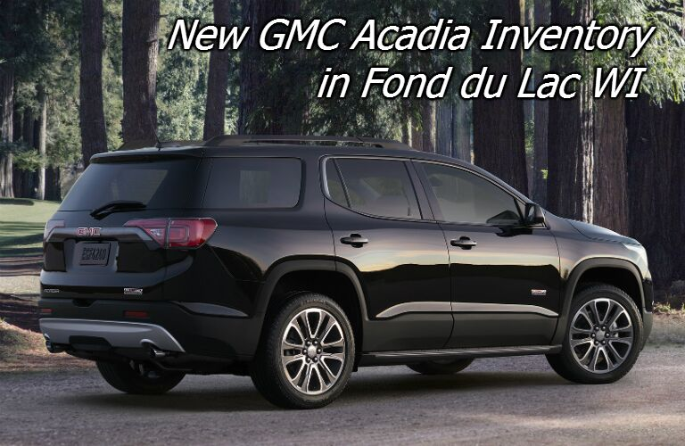 deals on the 2017 gmc acadia near oshkosh wi