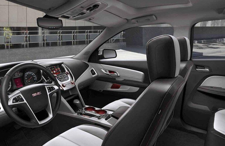 2017 gmc terrain interior design