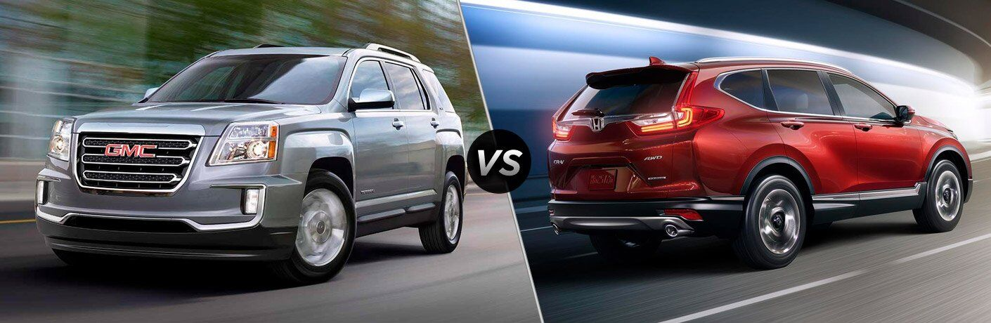 2017 GMC Terrain vs 2017 Honda CR-V