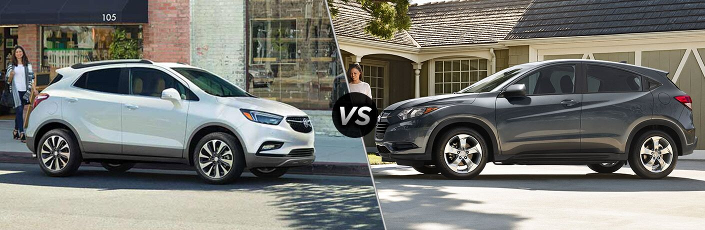 2017 Buick Encore vs 2017 Honda HR-V