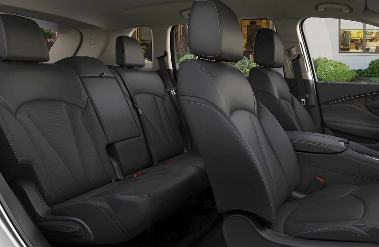 2017 buick envision rear cargo space