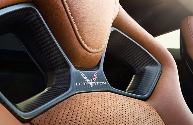 holes in chevy corvette seat