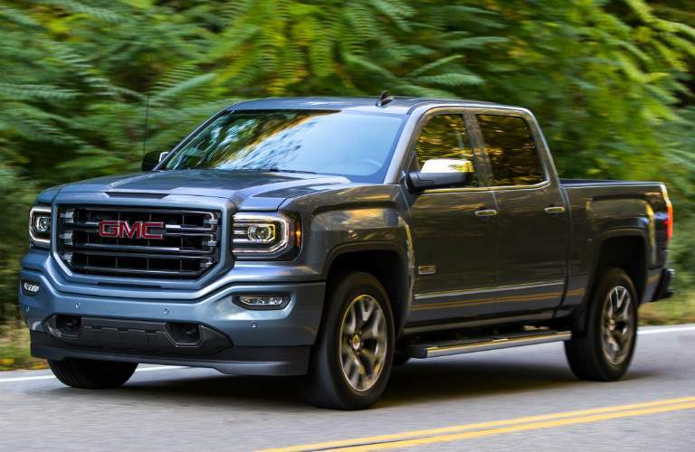2017 GMC Sierra 1500 AllTerrain gray side view
