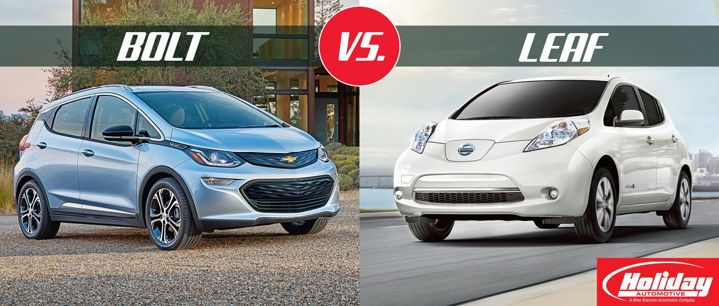 2017 Chevrolet Bolt vs 2017 Nissan Leaf