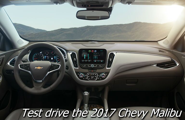 where to test drive the 2017 chevy malibu in fond du lac