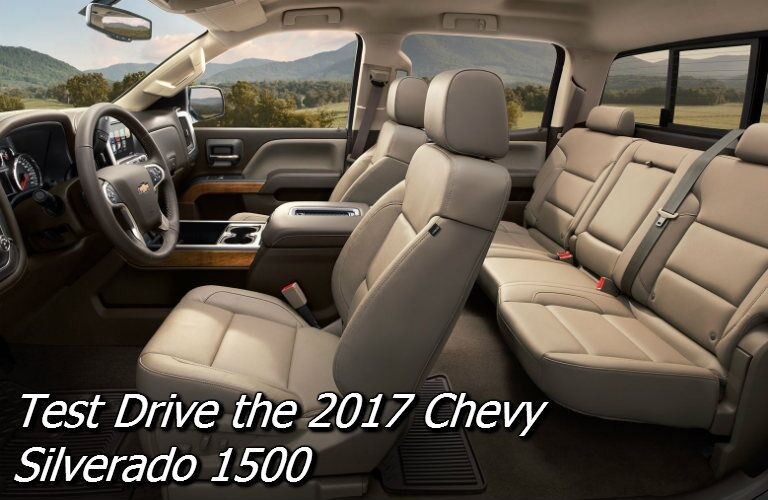 test drive a 2017 chevy silverado near appleton