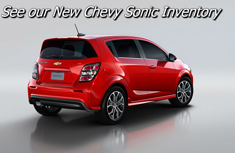 new 2017 chevy sonic inventory near fond du lac wi