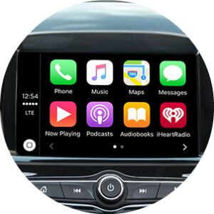 does the 2017 chevy spark have android auto and apple carplay?