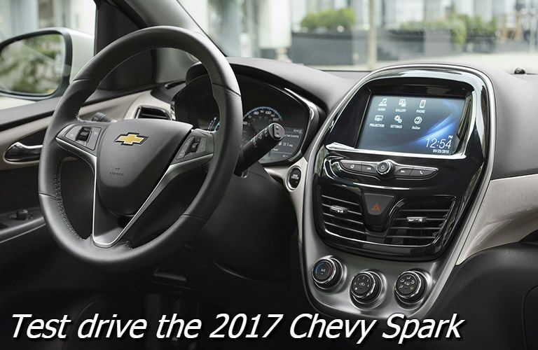 test drive the 2017 chevy spark fond du lac wi