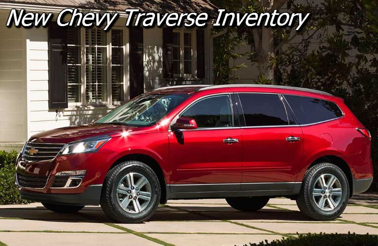 deals on the 2017 chevy traverse near fond du lac