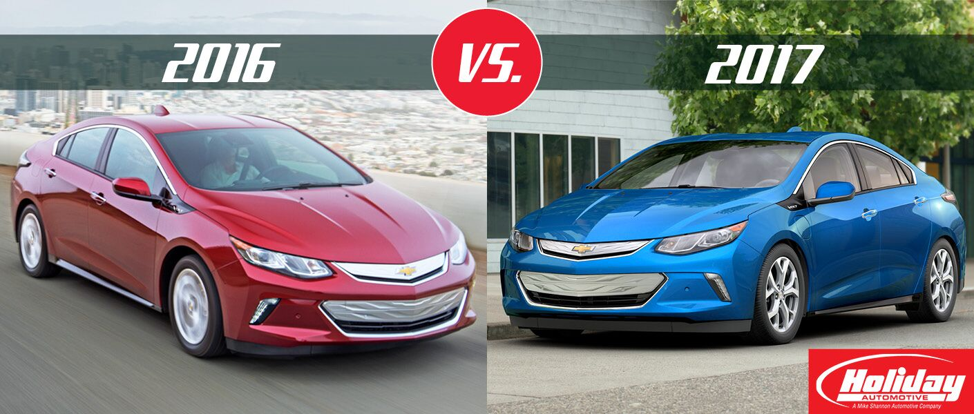 2017 Chevy Volt vs 2016 Chevy Volt