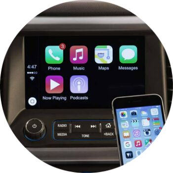 tech features in the 2017 gmc acadia
