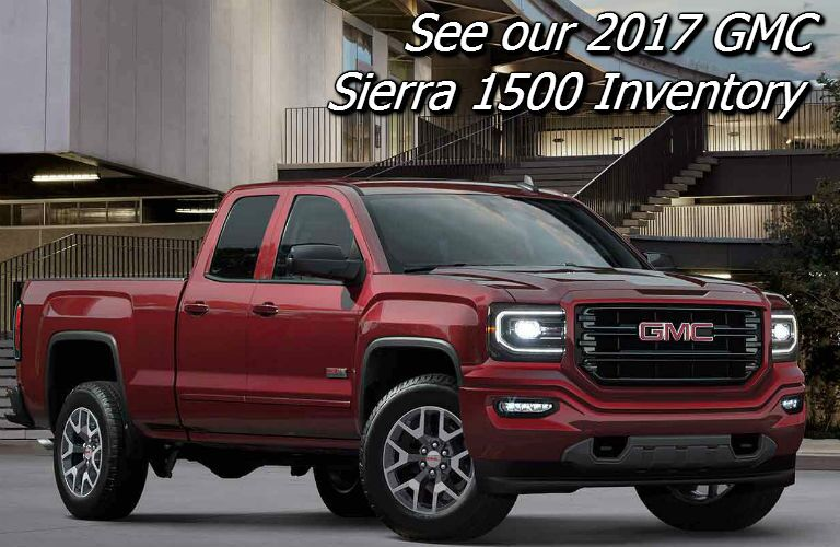deals on the 2017 sierra 1500 in fond du lac