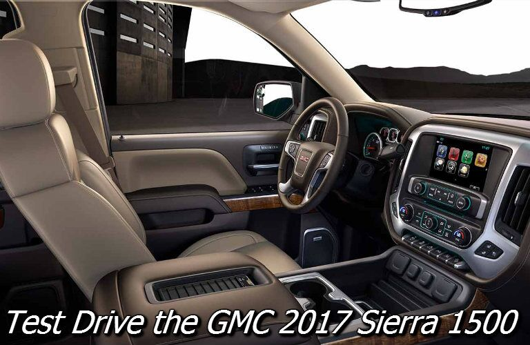 test drive the gmc sierra in fond du lac