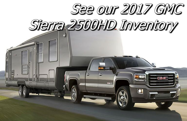 deals on the 2017 gmc sierra 2500hd in fond du lac wi