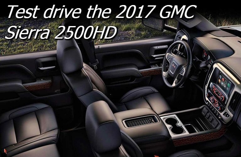 where to test drive the 2017 gmc sierra 2500hd in the fox valley
