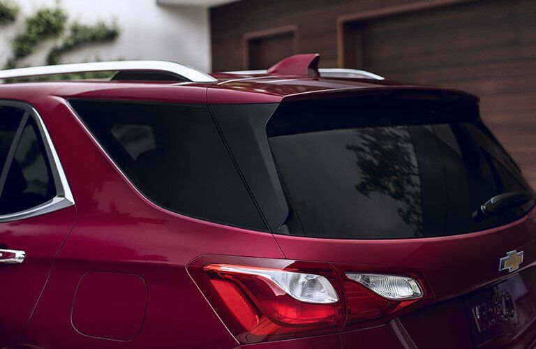 2018 Chevy Equinox roof