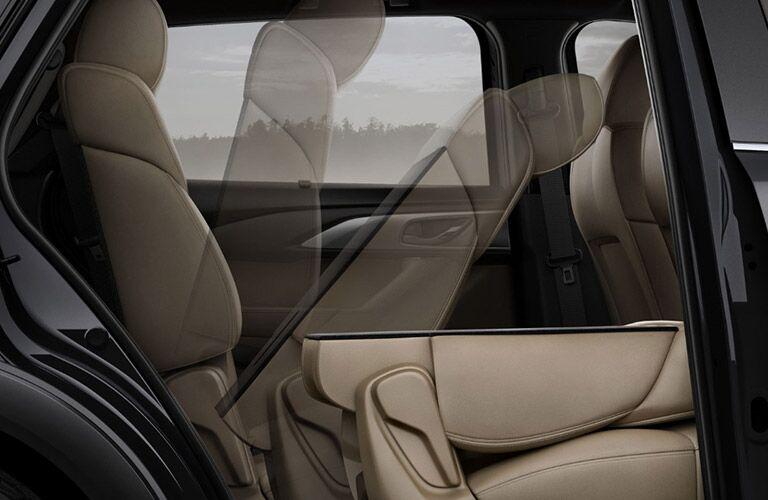 2018 Mazda CX-9 second row tan folding seat