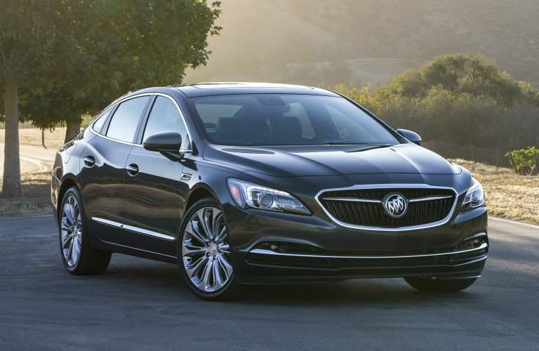 2018 Buick LaCrosse black side view