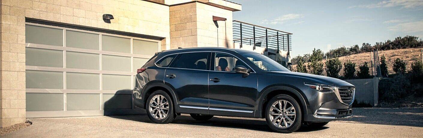 2018 Mazda CX-9 machine gray side view