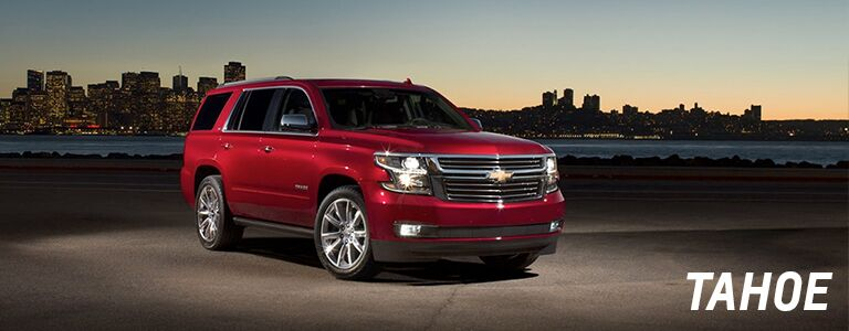 new chevy tahoe at holiday automotive
